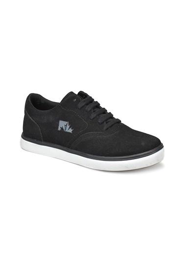 Lumberjack Erkek Siyah Sneakers 100263584 Ronas Siyah